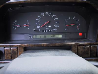 разбор передней панели вольво 850
